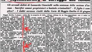 """CRONACA NERA: la """"saponificatrice"""" di Correggio e il mostro di Avetrana"""
