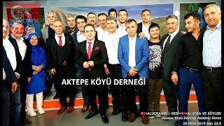 AKTEPE KÖYÜ DERNEGİ ANADOLU DERNEK TV