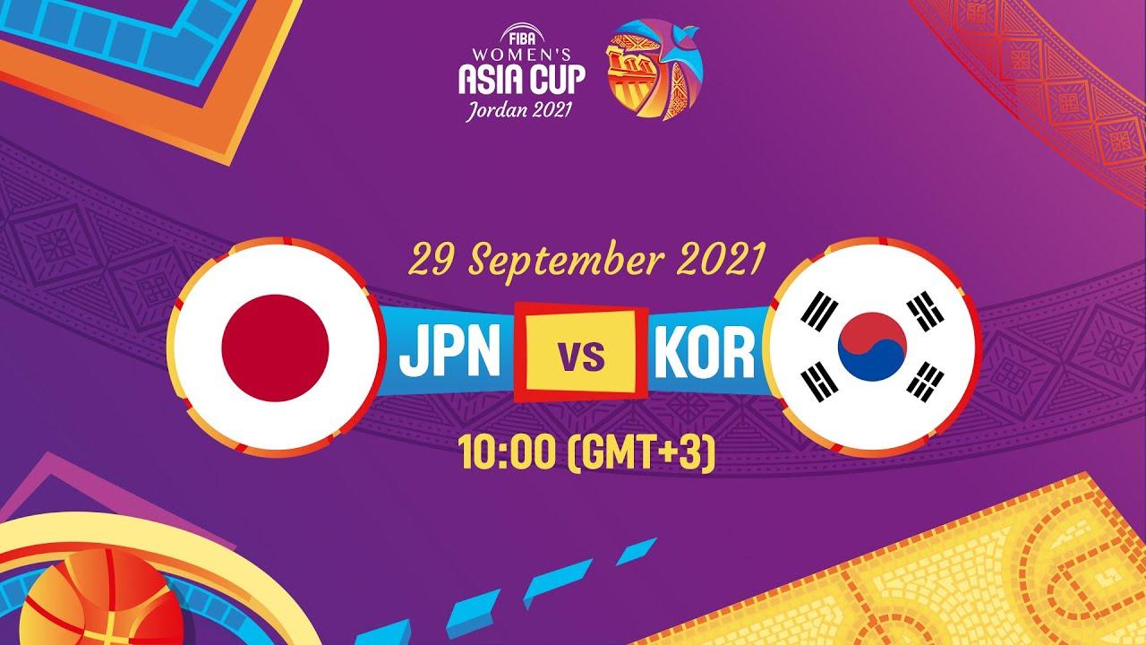 Japan v Korea   Full Game   FIBA Women's Asia Cup 2021 - Division A