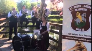 """Die """"Mini-Blasmusik"""" des Blasmusikvereins St. Georg Kagran - Hei, Ihr Gänschen, hei!"""