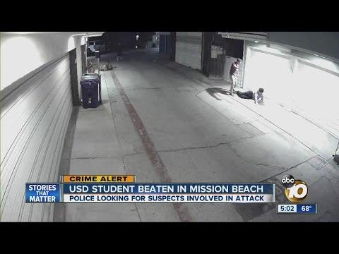 USD student beaten in Mission Beach