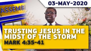 Assemblies Of God Madina Central - Sermon (May-03-2020)