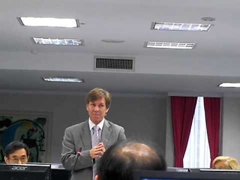 Judge Rader at National Taipei University of Technology 2012-10-29