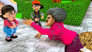 Download lagu Scary Teacher 3D - Nick and Tani - Troll Miss T - House flooded |VMAni Funny|