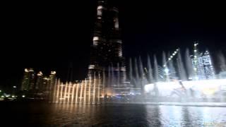 Dubai Fountain / Поющие фонтаны Дубай 2014