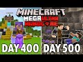 I Survived 500 Days in Mega Ultra Hardcore Minecraft... FINALE! Minecraft Hardcore 100 Days