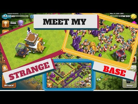 Mix 2 buildings in clash of clans!!