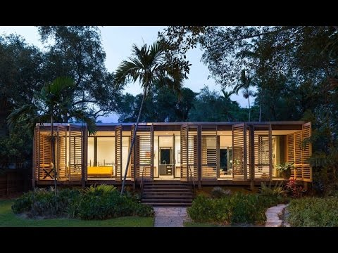 Brillhart House - Modern Architecture Design with The Concept of Tropical Modern Design