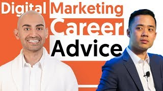 How to start a career in digital marketing with Neil Patel and Eric Siu