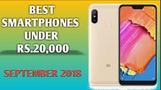 Best smartphone under 20000 price 2018 | full review of redmi 6,6A,6pro|note 5 pro|mi A2| poco F1