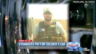 Strangers give war veteran surprise of a lifetime