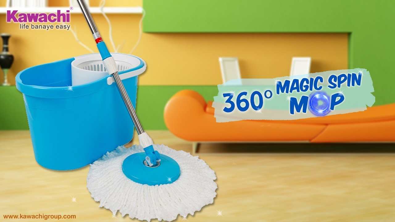Wash Floor Cleaning 360 Spin Mop