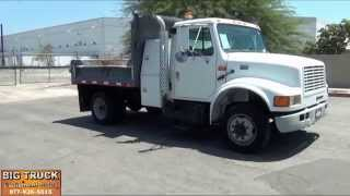 2002 International 4700 7' Dump Truck For Sale