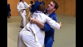 "LIFTING COUNTERS line drills &  3  ""limited randori"" training drills"