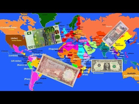Currency of all Countries