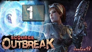 Scourge Outbreak Walkthrough: Part 1 Jungle - Gameplay & Commentary [Co-op]