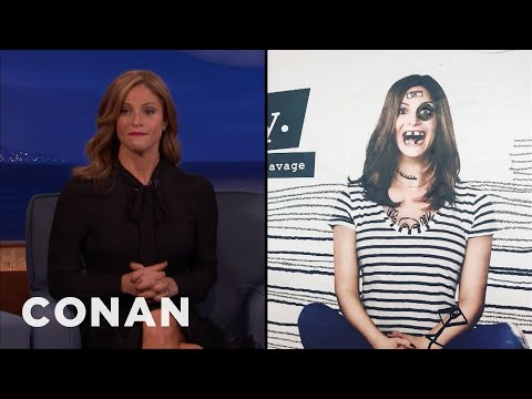 Andrea Savage Is Excited That Her Billboards Are Being Defaced