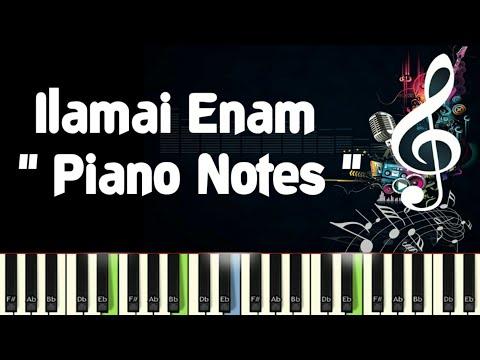 Ilamai Enam (pagalil oru iravu) Ilayaraja Piano Notes, Midi & Karaoke