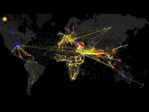 Mapping the World's Immigration Flows, Country-by-Country