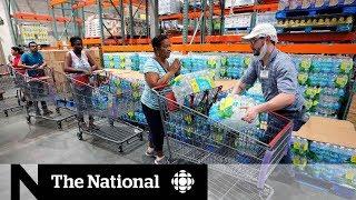 Hurricane Dorian: Floridians prepare for 'absolute monster'