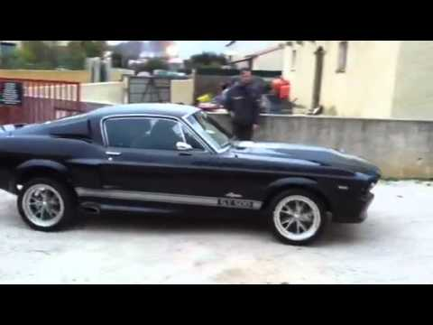1967 fastback gt eleanor 500 clone youtube. Black Bedroom Furniture Sets. Home Design Ideas