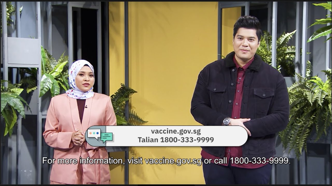COVID-19 Vaccine: Celebrities' Advice (Malay)