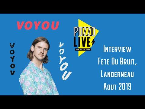 Voyou Interview 2019 - La Fête du Bruit dans Landerneau