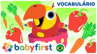 Aprenda novas palavras com ovos surpresa   Desenhos Educativos em Português   BabyFirst Brasil