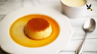 Flan Creme Caramel Custard - HoneysuckleCatering