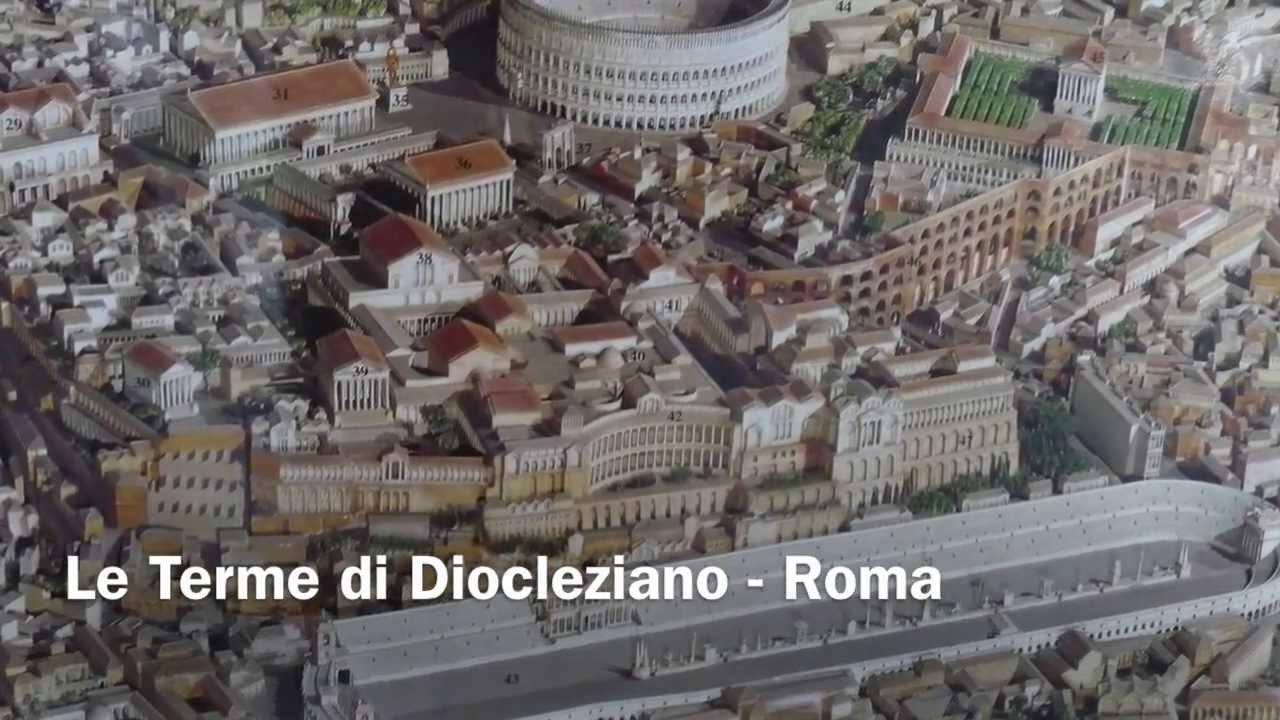 Le terme di diocleziano roma youtube for Affitto roma porta di roma
