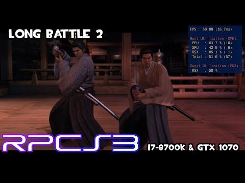 [RPCS3] (OLD) Yakuza Ishin - Long Battle 2 - MLAA Patch   I7-8700k