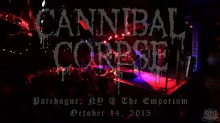CANNIBAL CORPSE - FULL SET LIVE (THE EMPORIUM 10/14/15) SW EXCLUSIVE