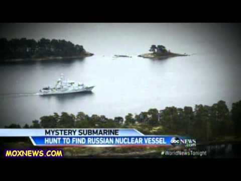 Possible Sighting Of Russian Submarine Very Close To Swedish Shores