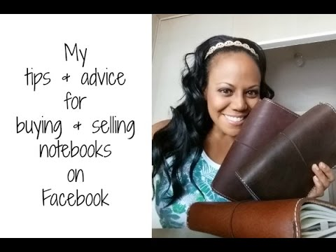 Tips for buying and selling notebooks in Facebook groups