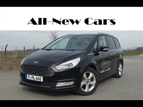 all new ford galaxy titanium 2 0 tdci 2015 2016 exterior interior and driving youtube. Black Bedroom Furniture Sets. Home Design Ideas