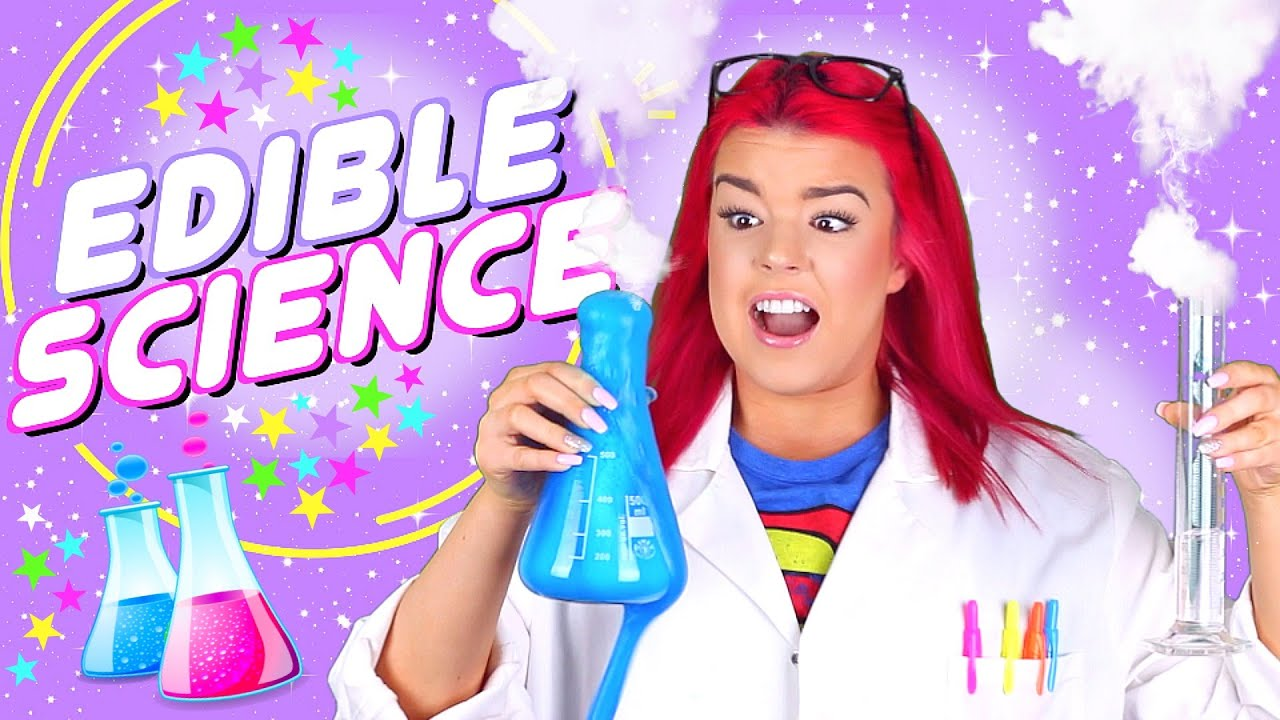 Diy Edible Science Experiments Youtube