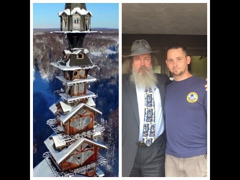 Dr Seuss House aka Goose Creek Tower interview with owner