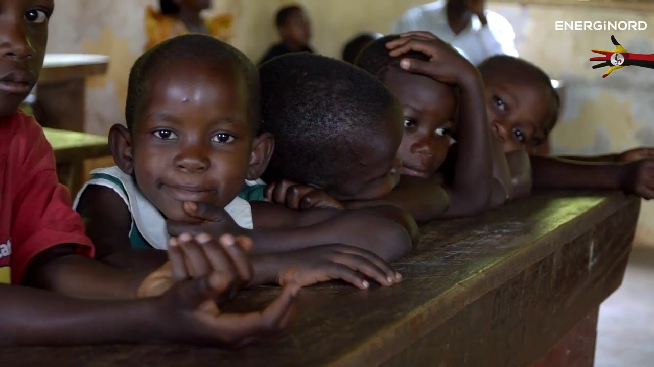 Energinords projekt Lys i Afrika - skoler og solceller januar 2016