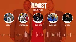 First Things First audio podcast (2.7.19)Cris Carter, Nick Wright, Jenna Wolfe | FIRST THINGS FIRST