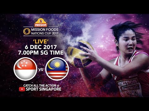 Singapore 🇸🇬 vs 🇲🇾 Malaysia | Mission Foods Nations Cup 2017