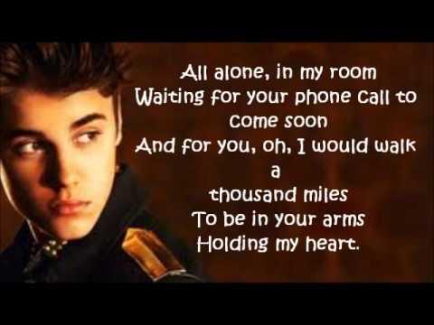 Justin Bieber - Be Alright Letra