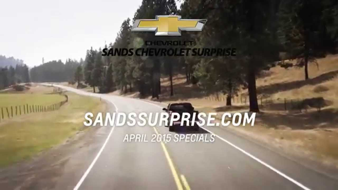 sands chevrolet surprise offers sps 4 15 youtube. Cars Review. Best American Auto & Cars Review