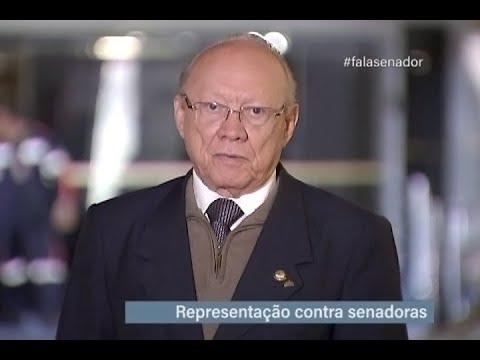 #falasenador: João Alberto comenta representação contra senadoras no Conselho de Ética