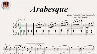 Arabesque - Johann Friedrich Franz Burgmüller, Piano