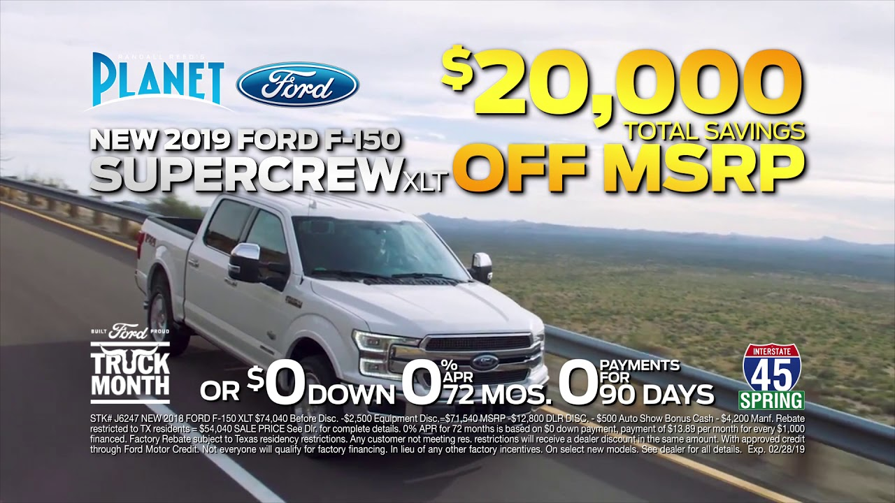 Planet Ford Spring >> Planet Ford 45 Truck Month February 2019