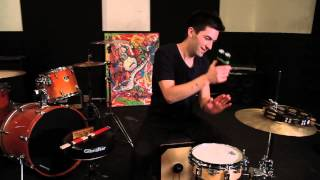 Greg Garman Plays Cajon Like A Kick Drum: Gibraltar