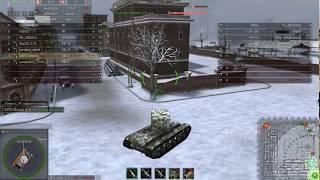 Обычный бой на кв-2 В гранд вар танкс