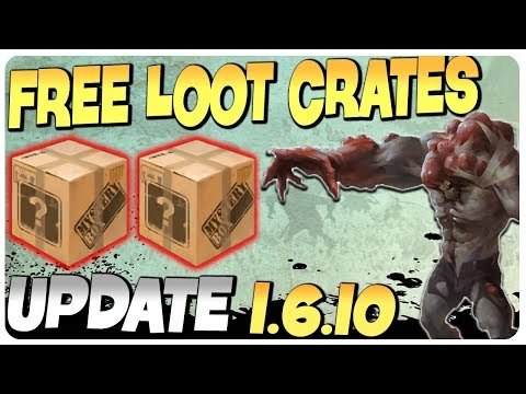 FREE CRATES FOR ALL - UPDATE 1.6.10 ( ͡° ͜ʖ ͡°) | Last Day On Earth Survival Game