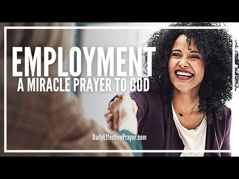 Prayer For Employment | Miracle Employment and Financial