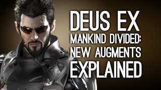 Deus Ex Mankind Divided: New Augments Explained - Gameplay from E3 2015